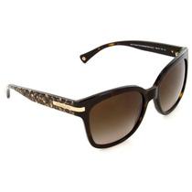 Lentes Gafas Coach Cafe Sol Original Hc8103 522713