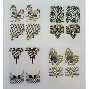 Peliculas Casadinhos,jóias Para Unhas,pedraria Luxo