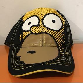 Gorra Negra Original The Simpsons Homero Simpson Cachucha