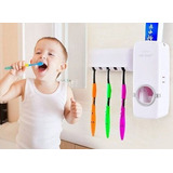 Dispensador De Pasta Dental Con Guarda Cepillos