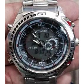 14ac000b58f Relogio Atlântico Edifice - Relógio Masculino no Mercado Livre Brasil