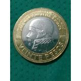 Moneda De 20pesos Jose Maria Morelos Y Pabon