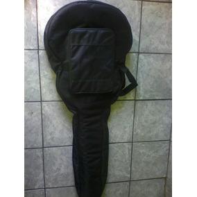 Capa Bag Para Violão Acolchoada, Nome Bordado De Brinde.