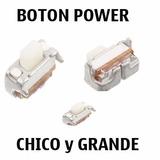 Boton Power Volumen Tablet Genérico Grande Y Chico