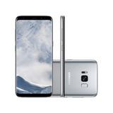 Lançamento - Celular Samsung Galaxy S8 G950, Prata - 4g, Te