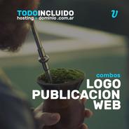 Todo Incluido Diseño Web Logo Publicación Hosting Dominio