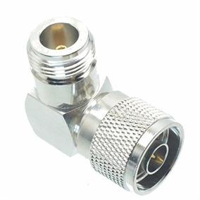Conector Adaptador Bullet. N Macho X N Fêmea Angular 90º