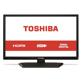 Tv Led 24 Polegadas Semp Toshiba 24l1700 Hd 1 Hdmi 1 Usb 60h