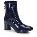 Ankle Boots Via Uno Argola - Marinho