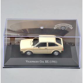 Miniatura Volkswage Gol Quadrado Bx 1981 Escala 1/43