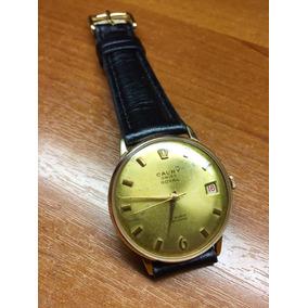 dc2078437bf Relógio De Pulso Cauny Prima Suiço Folheado A Ouro - Joias e ...