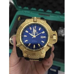 Relógio Invicta Subaqua Noma 3 1150 Ouro 18k Original