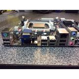 Tarjeta Madre Ecs A55f-m2 Socket Fm1 Ddr3 Hdmi Y Procesador