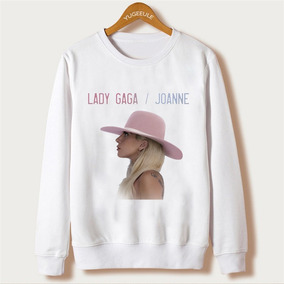 Blusa Moletom Gola Redonda Lady Gaga Joanne Show Fã
