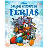 Revista Grandes Histórias De Férias Disney Volume 6