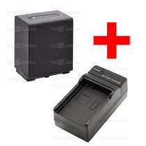 Carregador + Bateria Np-fv100 P Sony Hdr-td10 Xr160 Xr350