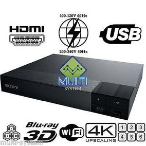 Dvd Blue Ray Sony Bdp-s6700 3d 4k Netflix Smart Wifi