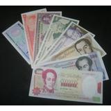 Combo De 8 Billetes Antiguos Sin Circular Bs. 12.043