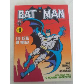 Fac-símile Batman Nº 1 - Abril