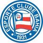 Adesivo Esporte Clube Bahia 10cm - Frete Grátis