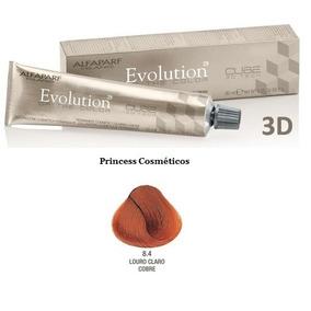 Tinta Evolution Color Of Cube 3d 60ml Da Alfaparf Cor 8.4