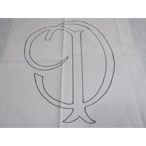Kit 2 Tecidos Para Agulha Mágica - Tema Corinthians