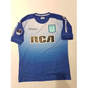 Buzo De Arquero De Racing Kappa Nuevo Azul Copa Sudamericana