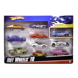 Hot Wheels - Packx10 - Mattel