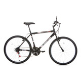 Bicicleta Foxer Hammer Preta, Aro 26 - Houston