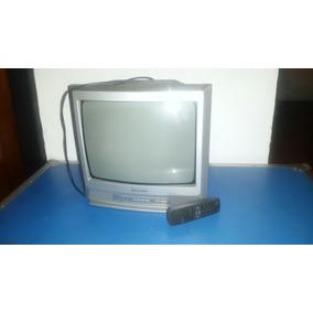 Tv Sharp 13 Pulgadas Con Control