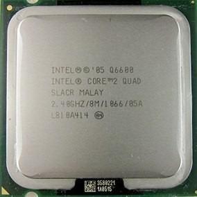 Microprocesador Q6600 Core 2 Quad 2.40ghz/8m/1066