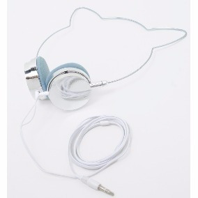Headfone Fone Orelha De Gato Jogos E Música Adulto E Criança
