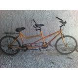 Bicicleta Doble Tender