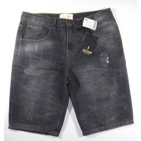Bermuda Jeans Black Zoomp Masculina-uni000545-universizeplus