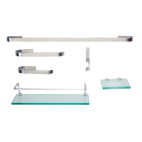 Kit Para Banheiro Onix 2 (6 Peças) -