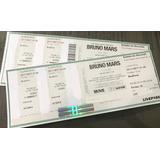 2 Ingressos Show Bruno Mars Dia 22 Sp Pista Premium Budzone