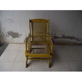 Antiga Cadeira De Balanço (cod.2539)