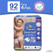 Pañal Pequeñin Premium Touch Et4 X92