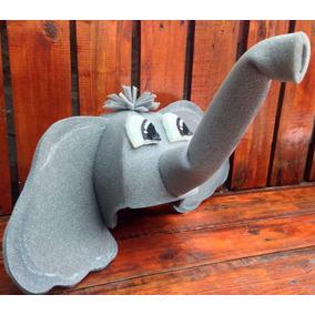 Gorro Elefante Disfraz Animales Goma Espuma Cotillón