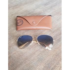 Ray Ban Aviador Azul Degrade - Óculos no Mercado Livre Brasil 1d4f500469