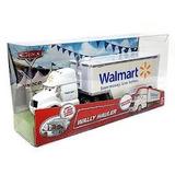 Disney Pixar Cars Wally Hauler Walmart Camion Con Acoplado