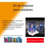 Kit De Limpieza Para Celulares Pulverizador Y Paños Tronix