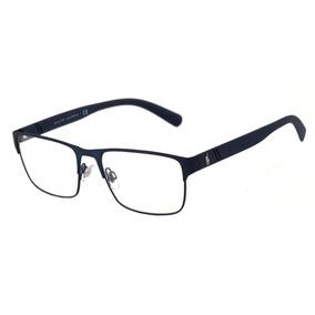 Polo Ralph Lauren Ph 1175 - Óculos De Grau 9119 Azul Fosco