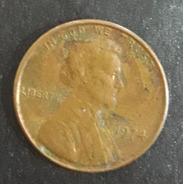 Moeda One Cent Ano 1974 Estados Unidos