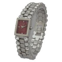 Reloj Q&q Gf91-358y Plateado