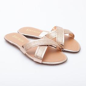 Sandalias Tipo Chinela Tiras Cruzadas (sky1795)