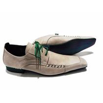 Zapato Priamo Italy Punta. Liquidacion. Cuero. Envio Gratis