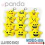 Llavero Emoji Peluche Estrella 8 Cm - 12unid Cod63156