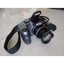Câmera Digital Semi Profissional Ge X550 16mp Zoom 15x