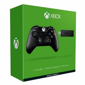 Joystick Xbox One Wireless + Adaptador Para Pc Windows 10